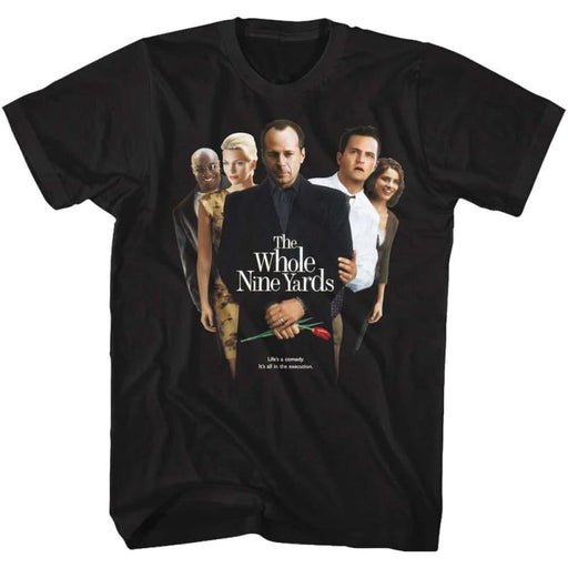 WHOLE NINE YARDS-POSTER-BLACK ADULT S/S TSHIRT