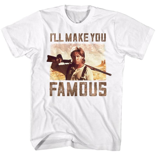 YOUNG GUNS-FAMOUS-WHITE ADULT S/S TSHIRT