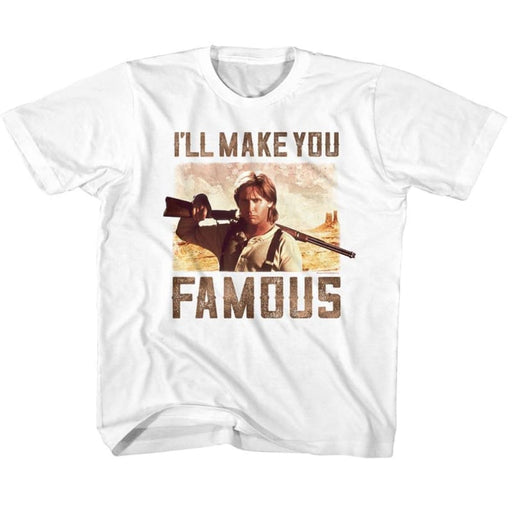 YOUNG GUNS-FAMOUS-WHITE YOUTH S/S TSHIRT