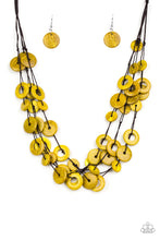 Load image into Gallery viewer, Paparazzi Necklace ~ Wonderfully Walla Walla - Yellow