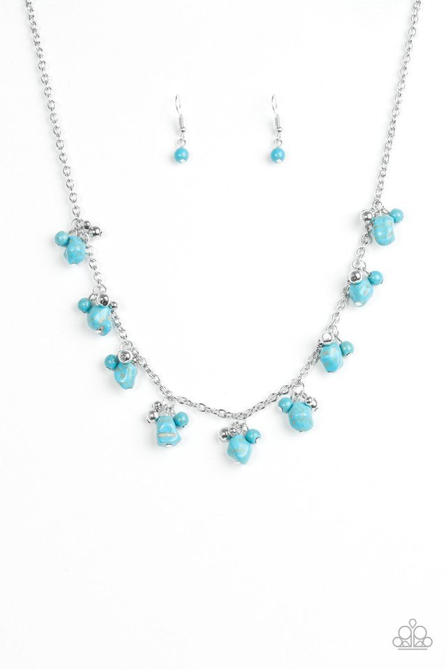 Paparazzi Necklace - Rocky Mountain Magnificence - Blue