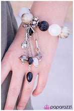 Load image into Gallery viewer, Paparazzi Blockbuster Bracelet - Lights! Camera! Action! - Black