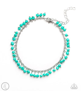 Paparazzi Anklet ~ Mermaid Mix - Blue