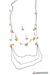 Paparazzi Necklace - Air of Sophistication - Brown