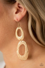 Load image into Gallery viewer, Paparazzi Earring ~ Ive SHEEN It All - Gold