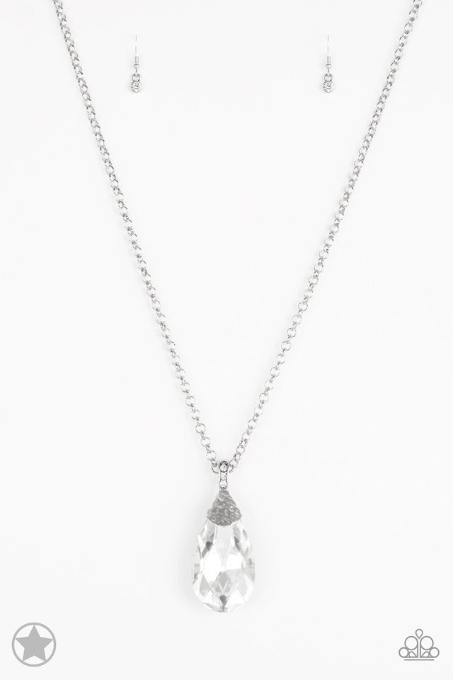 Paparazzi Necklace - Spellingbinding Sparkle - White