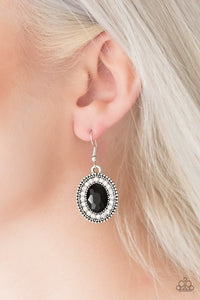 Paparazzi Earrings - Wonderfully West Side Story - Black