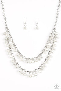 Paparazzi Necklace - Beauty Shop Fashion - White