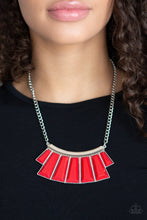 Load image into Gallery viewer, Paparazzi Necklace ~ Glamour Goddess - Red