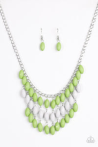 Paparazzi Necklace - Delhi Diva - Green