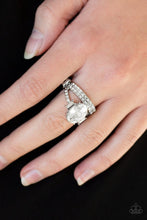 Load image into Gallery viewer, Paparazzi Ring ~ Bling Queen - White