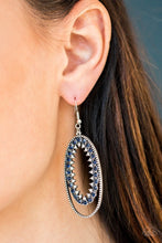 Load image into Gallery viewer, Paparazzi Earring ~ Marry Into Money - Blue