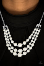 Load image into Gallery viewer, Paparazzi Necklace - Spring Social - White