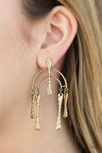 Load image into Gallery viewer, Paparazzi Earring ~ ARTIFACTS Of Life - Brass