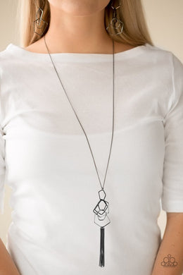 Paparazzi Necklace ~ The Penthouse - Black