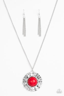 Paparazzi Necklace - My Primary Color - Red