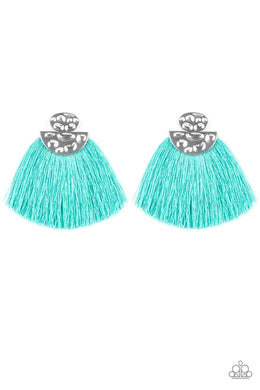 Paparazzi Earring ~ Make Some PLUME - Blue