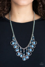 Load image into Gallery viewer, Paparazzi Necklace ~ Cool Cascade - Blue