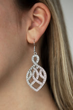 Load image into Gallery viewer, Paparazzi Earring ~ A Grand Statement - White