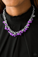 Load image into Gallery viewer, Paparazzi Necklace - Palm Beach Boutique - Purple