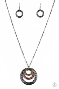 Paparazzi Necklace ~ Savagely She-Wolf - Multi