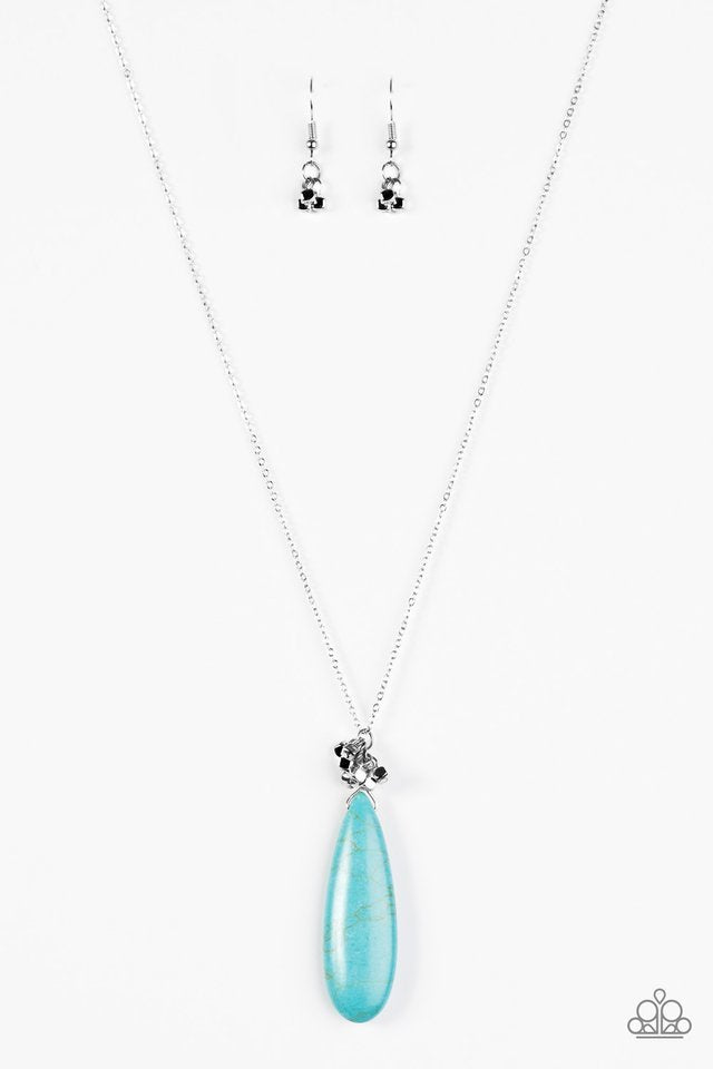 Paparazzi Necklace - Canyon Craze - Blue
