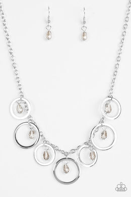 Paparazzi Necklace - Rochester Refinement - Silver