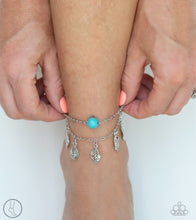 Load image into Gallery viewer, Paparazzi Anklet ~ Earthy Explorer - Blue