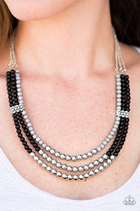 Paparazzi Necklace - Just BEAD You - Black