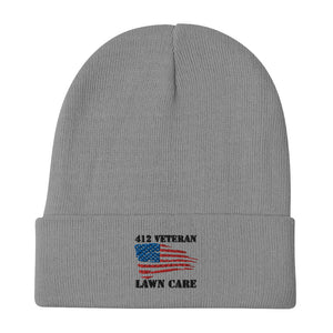412 Lawn Care Embroidered Beanie