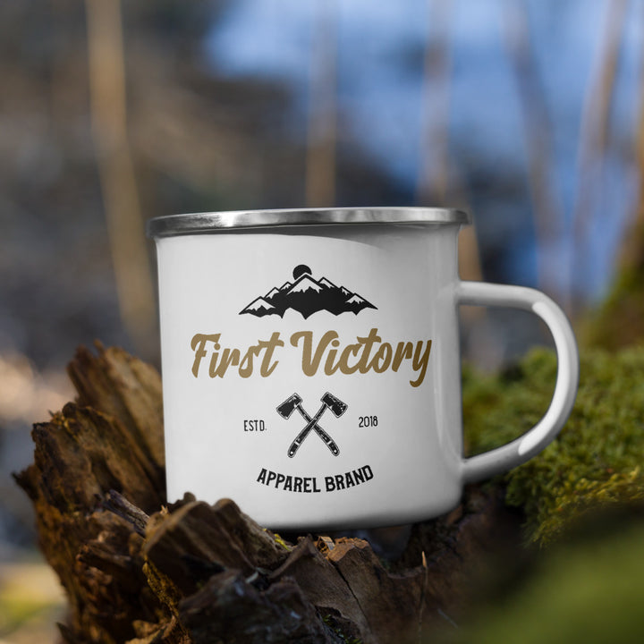 Mountain Enamel Mug