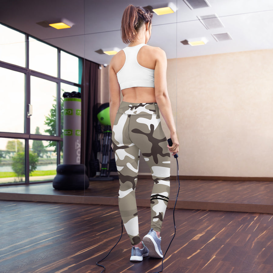 Light Camo Leggings