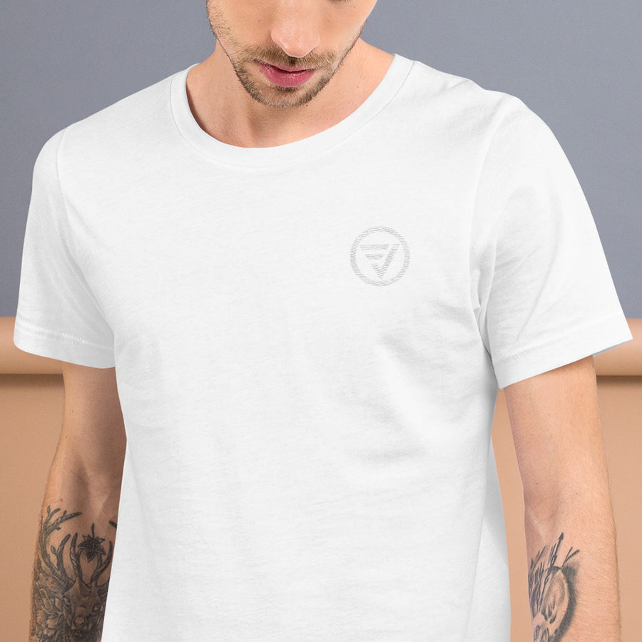 Embroidered  FVA Unisex T-Shirt