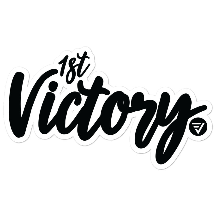 Victory Bubble Stickers