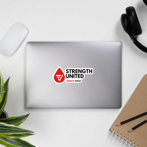 Strength United Stickers
