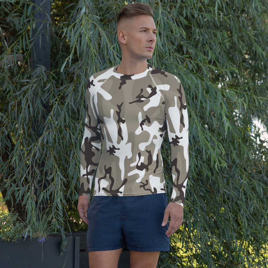Light Camo Rash Guard