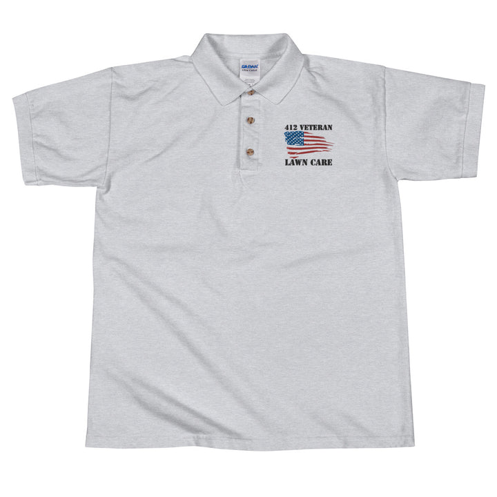 412 Embroidered Polo Shirt