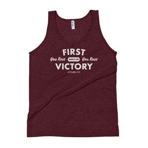 You Rest You Rust Tri-Blend Tank Top