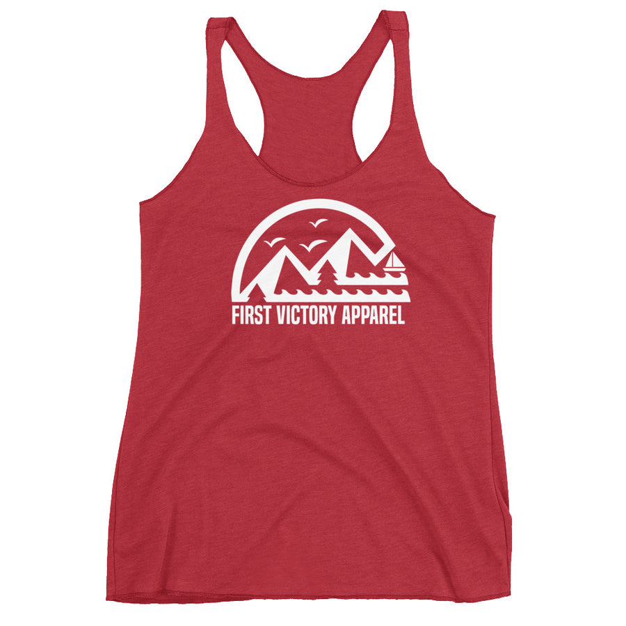 Coast to Mountains Women's Racerback Tank