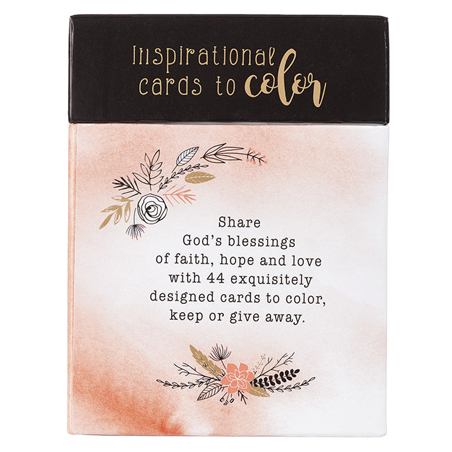 Color Cards Faith, Hope, and Love Set of 44