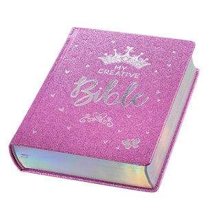 My Creative Bible For Girls ~ Sparkle Purple