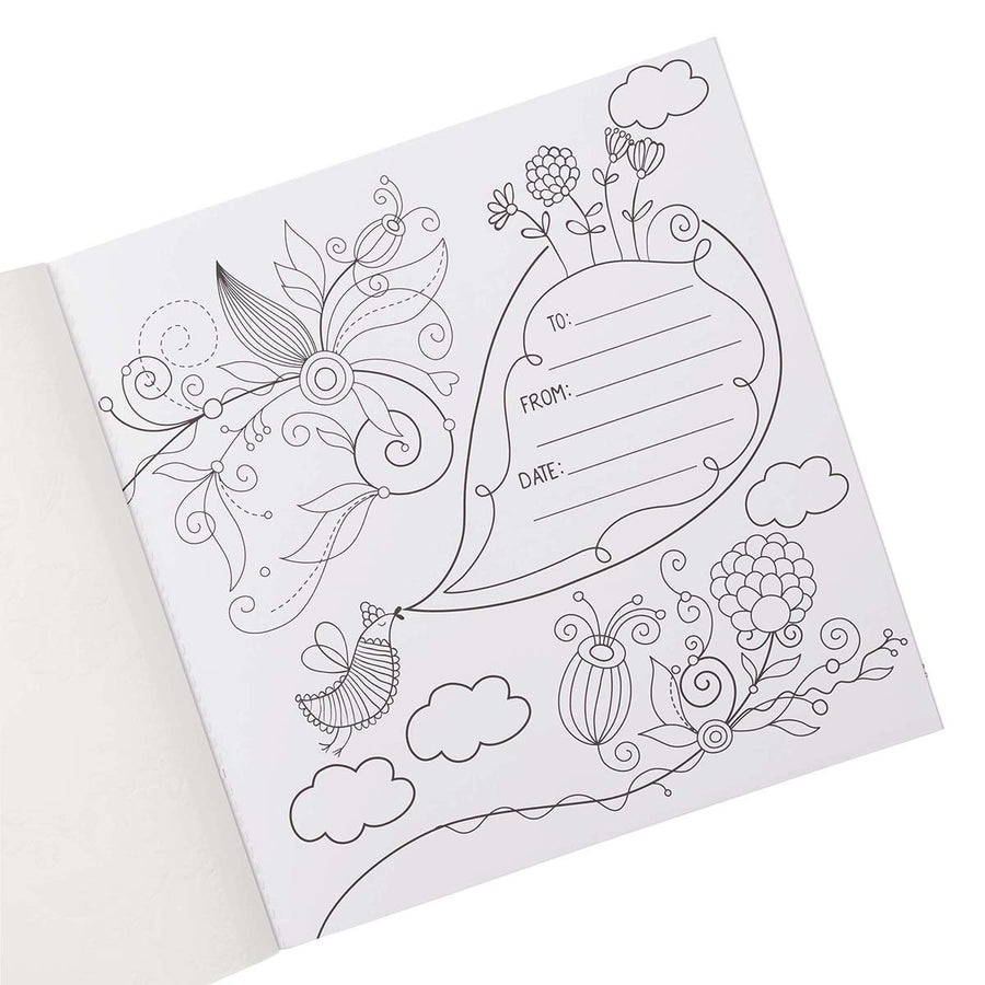 Be Still & Know Inspirational Adult Coloring Book