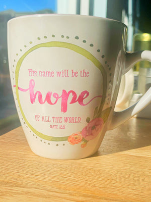His Name Will Be The Hope Of All The World Matt. 12:21