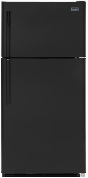 Crosley 17.5 Cu.Ft. Top Mount Black Refrigerator XRS18GGABB - America Best Appliances, LLC