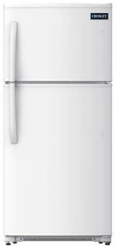 Crosley 20.8 Cu.Ft. Top Mount White Refrigerator CRD2123NW - America Best Appliances, LLC