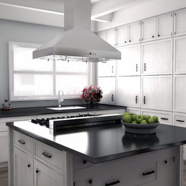 Island Mount Range Hood in Stainless Steel (KL3i-42)  ZLINE 42 in. - America Best Appliances, LLC