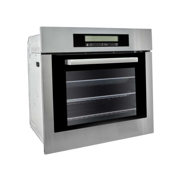 "Cosmo 24"" Single Wall Oven w/10 Functions  Self-Cleaning in Stainless Steel C106SIX-PT (24"") - America Best Appliances, LLC"