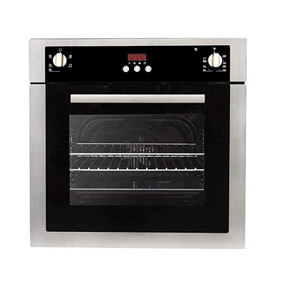 "Cosmo 24"" Single Wall Oven w/10 Functions  Self-Cleaning in Stainless Steel C51EIX (24"") - America Best Appliances, LLC"