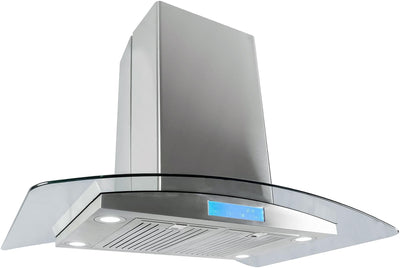 "Cosmo 36 in. Island Range Hood in Stainless Steel COS-668ICS900 (36"") - America Best Appliances, LLC"