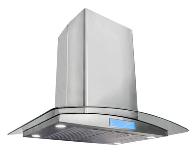 "Cosmo 30 in. Island Range Hood in Stainless Steel COS-668ICS750 (30"") - America Best Appliances, LLC"